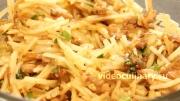 пошаговый фото-рецепт и видео рецепт Корейский картофельный салат Камди-ча