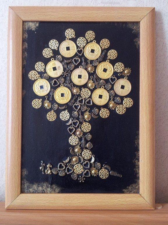 Денежное дерево своими руками в подарок