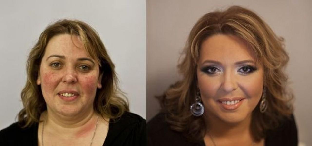Российский визажист демонстрирует чудеса макияжа