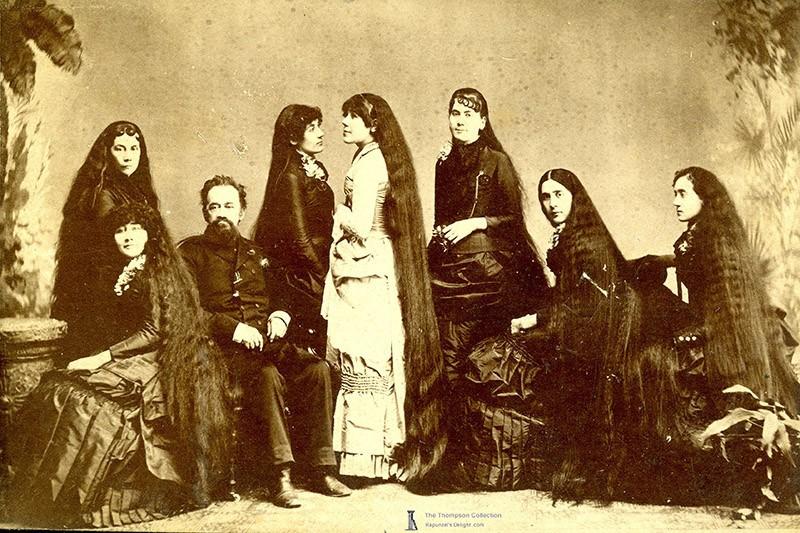 История красоты — известные «рапунцели» XIX века