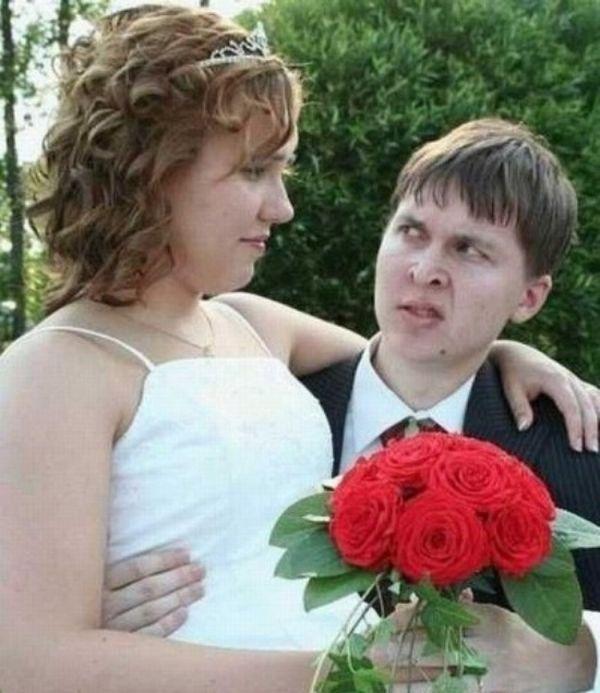 Странные свадебные снимки, которые никогда не попадут в свадебный альбом. Хорошо, что не попадут!