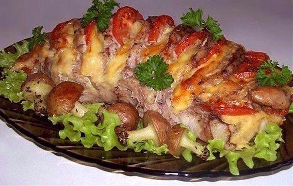 """Мясо """"Гармошка"""""""