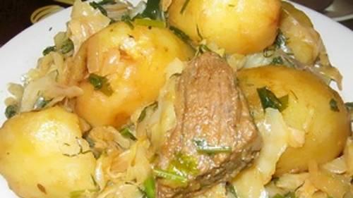Казан-кабоб с говядиной – рецепт с фото.