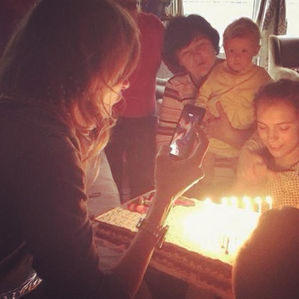День рождения Варвары Бондарчук