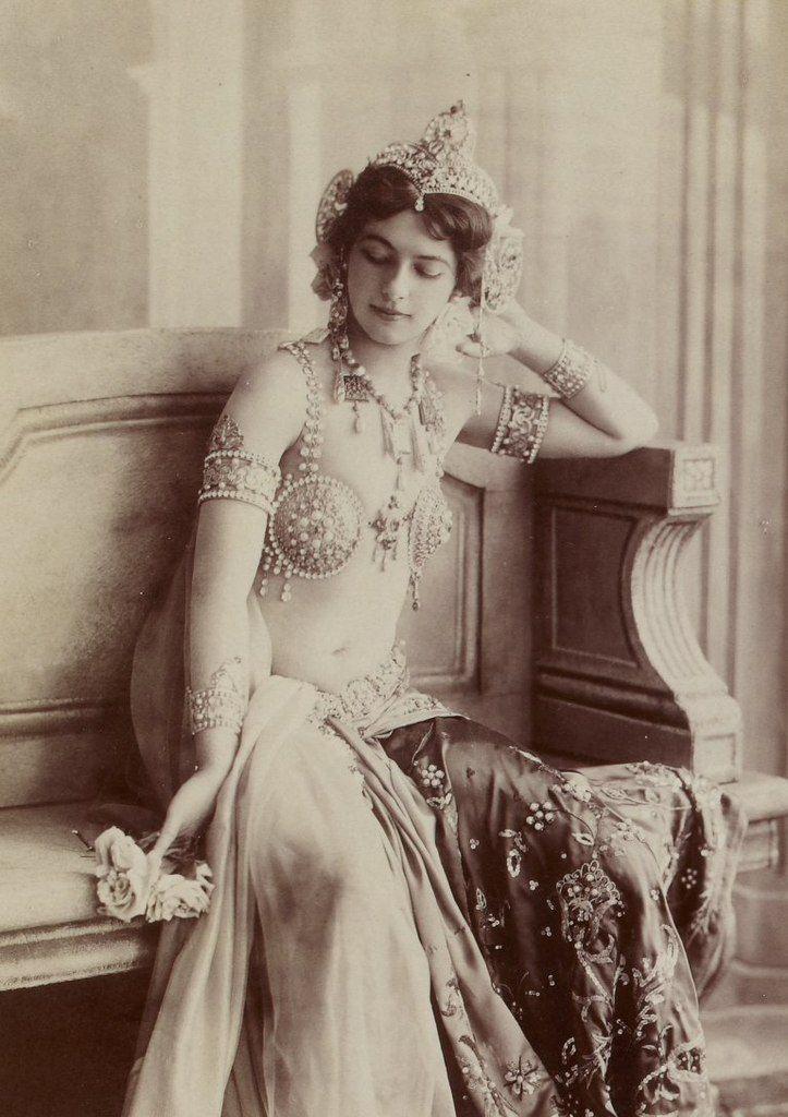 Мата Хари, 1910-е года знаменитости, история, редкие кадры, фото