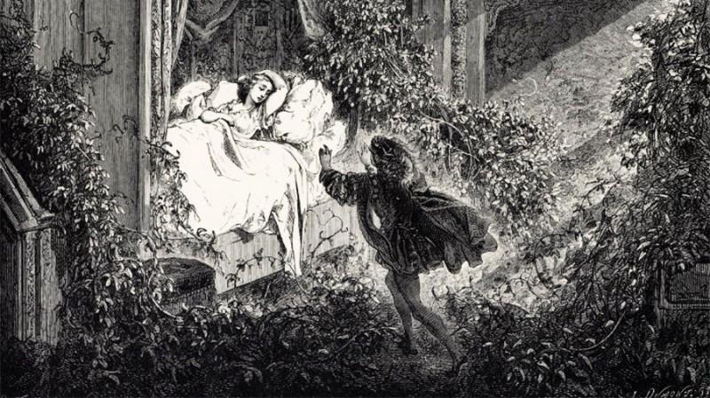 В Британии изнасиловали спящую красавицу