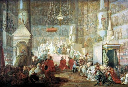 коронование императрицы Екатерины II