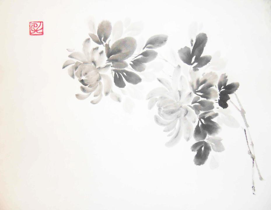 Японская живопись Суми-э для каждого