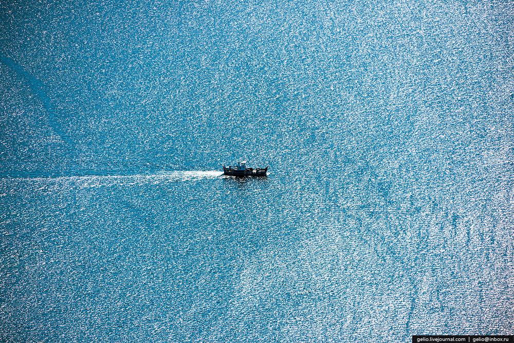Байкал с вертолета