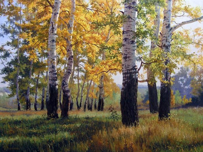 Русские пейзажи Геннадия Кириченко