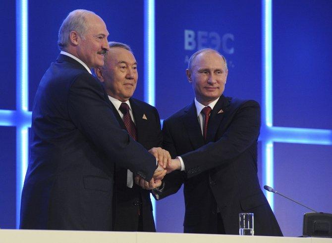 Прибалтика войдет в Евразийский союз