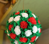 Шар-подвеска Розы