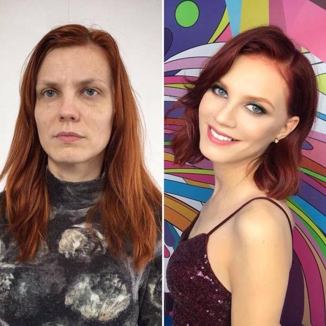 Сила макияжа творит чудеса: …
