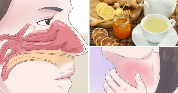 3 простых напитка, которые незамедлительно спасут горло от воспаления