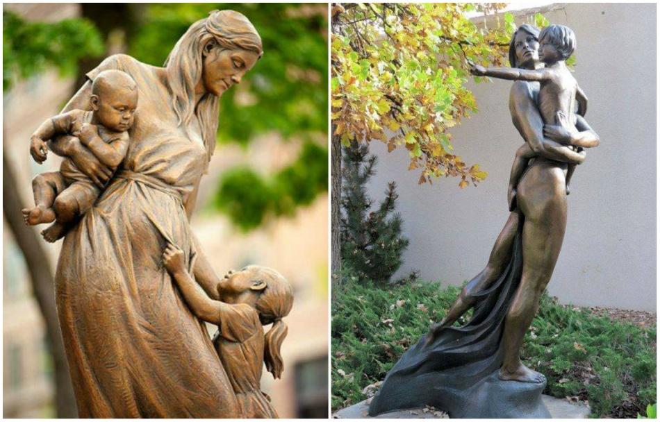12 волшебных памятников мамам