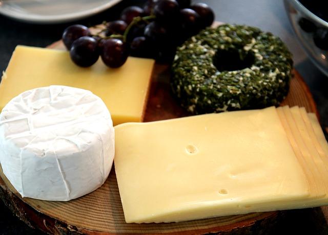Käseplatte, Сыр, Полутвердый Сыр, Сливочный Сыр