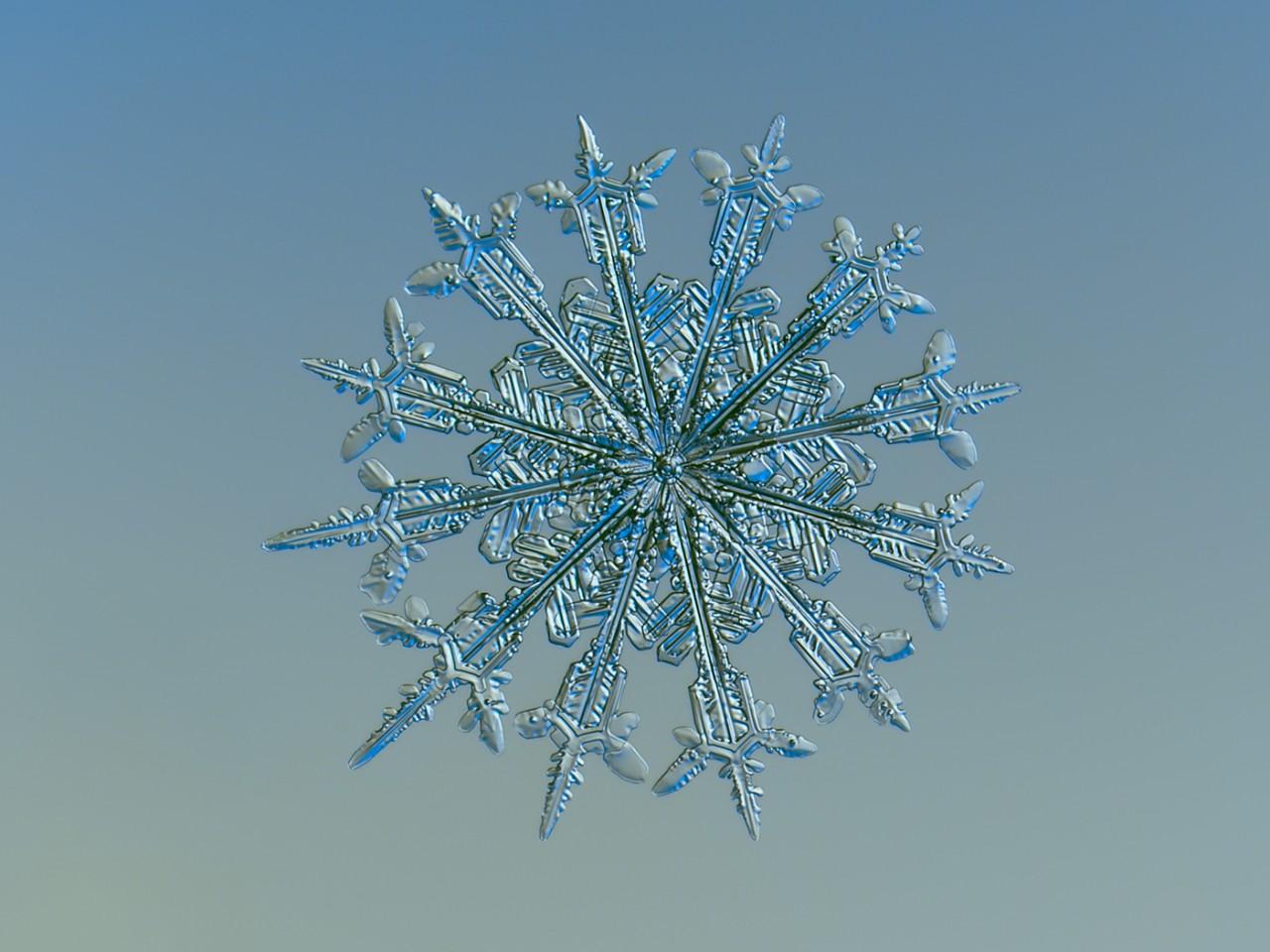 Снежинки не так просты, как может показаться