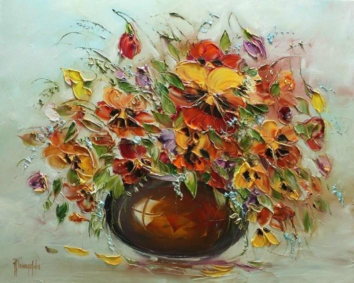 Роскошь цветочного букета от Joanna Domagalska