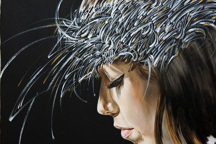 Гавайский художник создает современную версию Адама и Евы