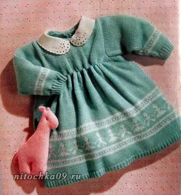 Платье цвета мяты