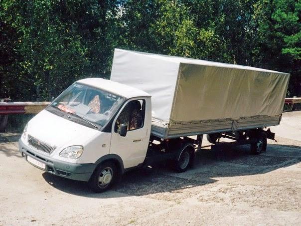 """Седельный тягач на базе автомобиля ГАЗ 3302 """"ГАЗель"""""""