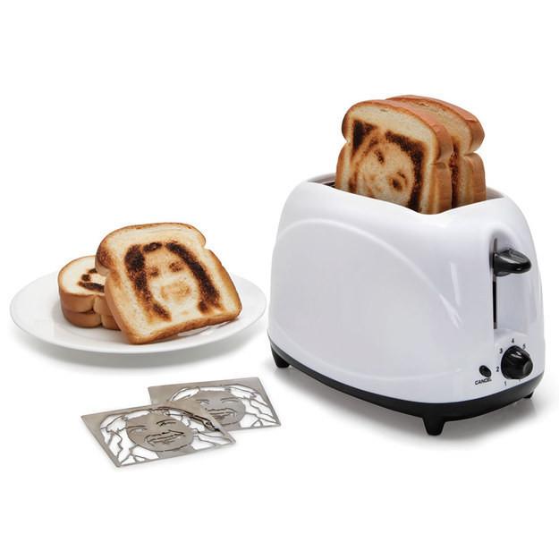 4. Селфи-тостер новый год, подарки, приколы
