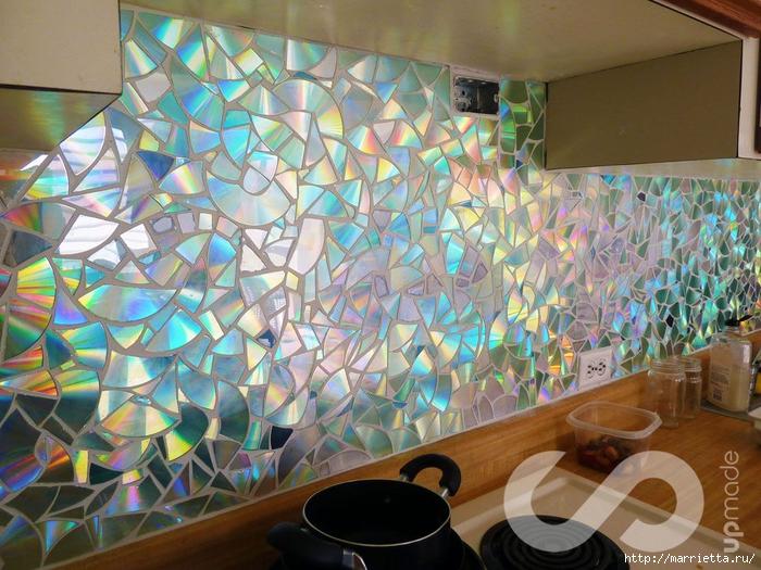 Мозаика на стену своими руками фото