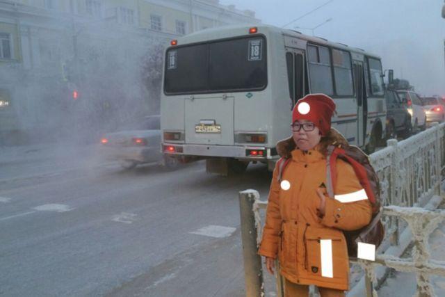 В Якутске манекены школьников помогут предотвратить наезды на пешеходов