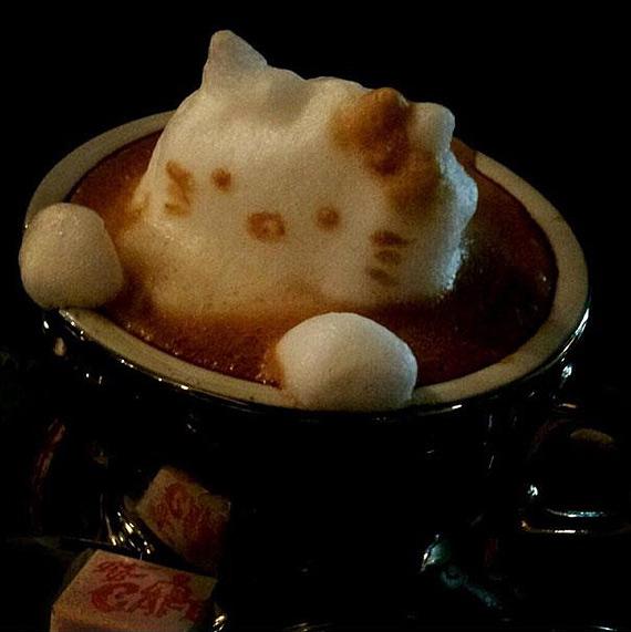 Кофейный арт Казуки Ямамото 83773
