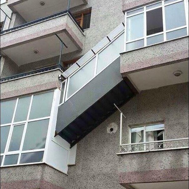 2. Купил квартиру у соседа балкон, дизайн, креатив