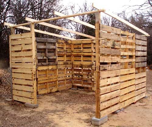 Построить сарай из дерева на даче пошаговое фото