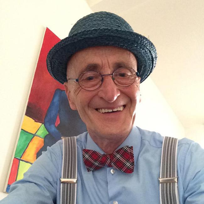 70-летний дедуля, который одевается круче любого из нас