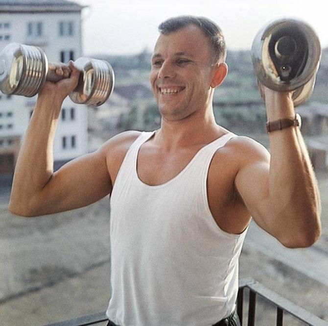Вот таким  был бесплатный фитнес в СССР)