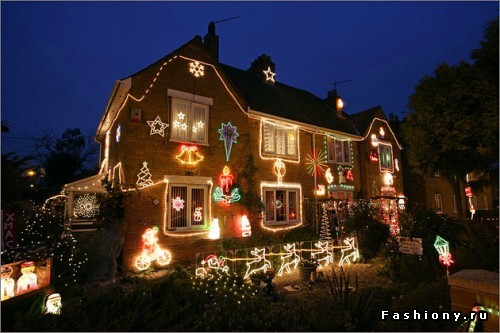 Идеи для украшения дома к Новому году!