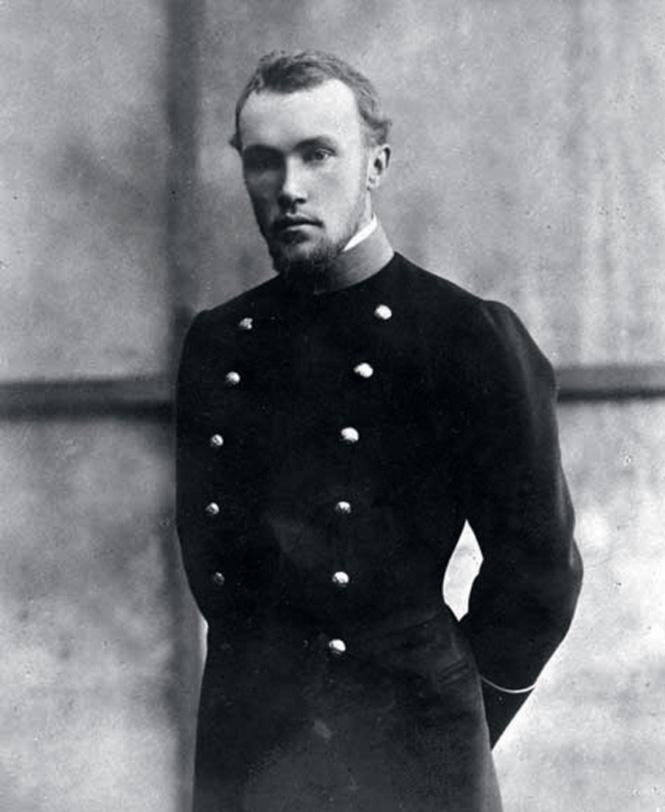 Николай Рерих в 1898 году