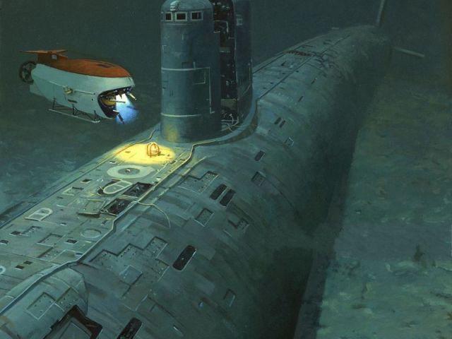 подводная лодка с 154