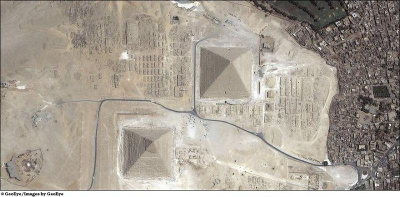 Египетская пирамида где находится