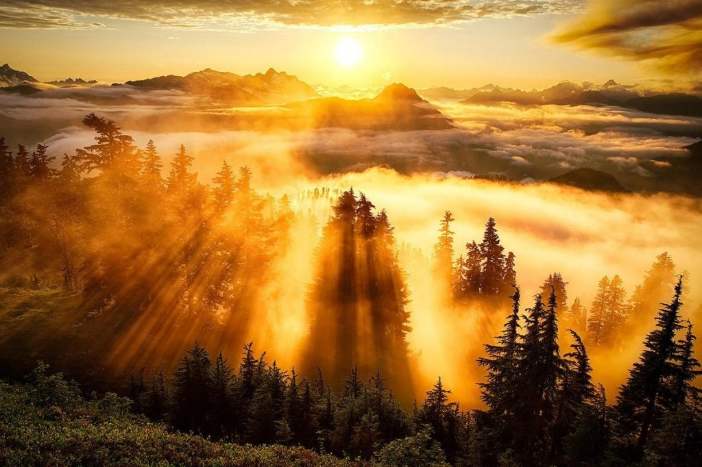 15 завораживающий фотографий рассветов и закатов