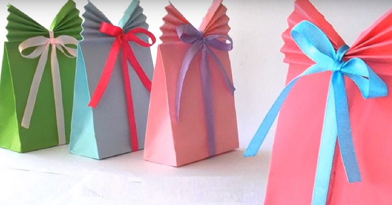 упаковка подарка