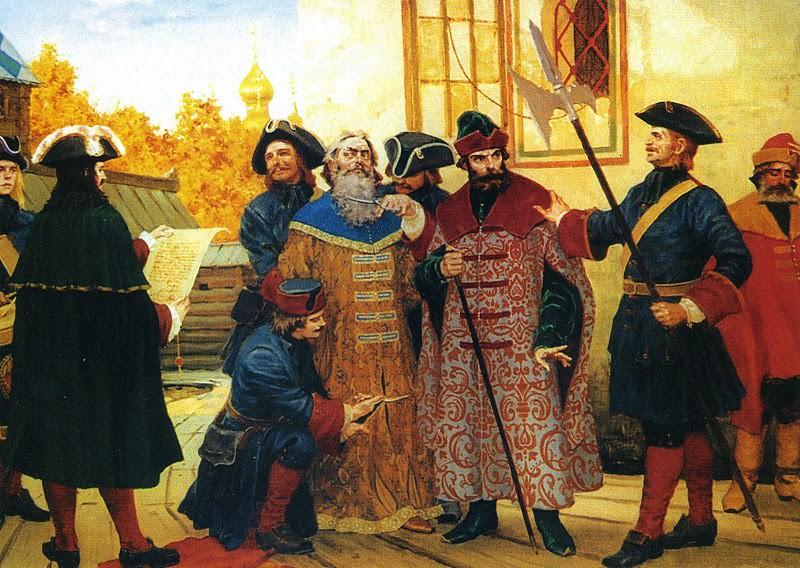 Пётр Первый императоры, россия, цари