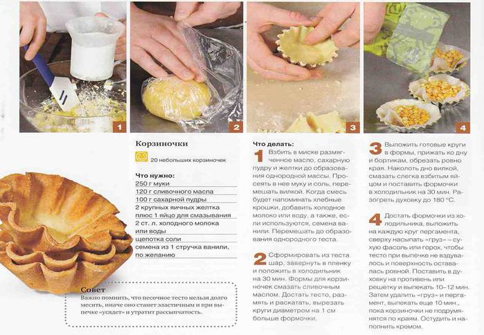 Чем можно заправить тарталетки рецепты с фото