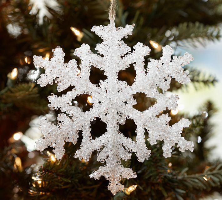 Красивые снежинки на ёлку