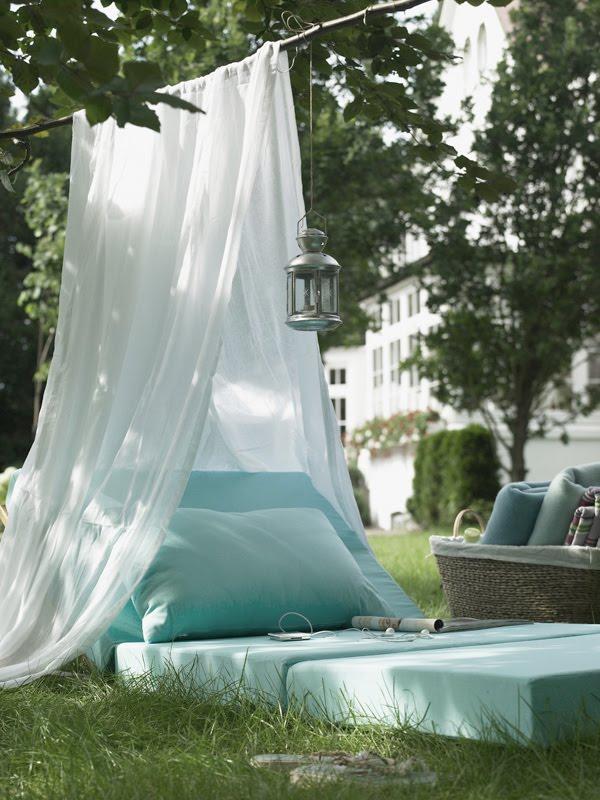 Укромный уголок в саду: садовый шатер своими руками