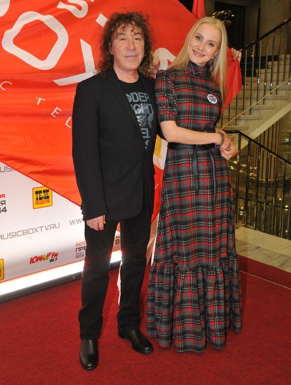 Владимир Кузьмин с женой Екатериной