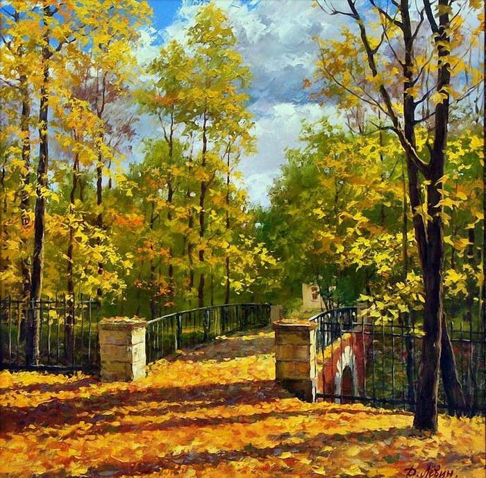 Природа России в картинах Дмитрия Левина