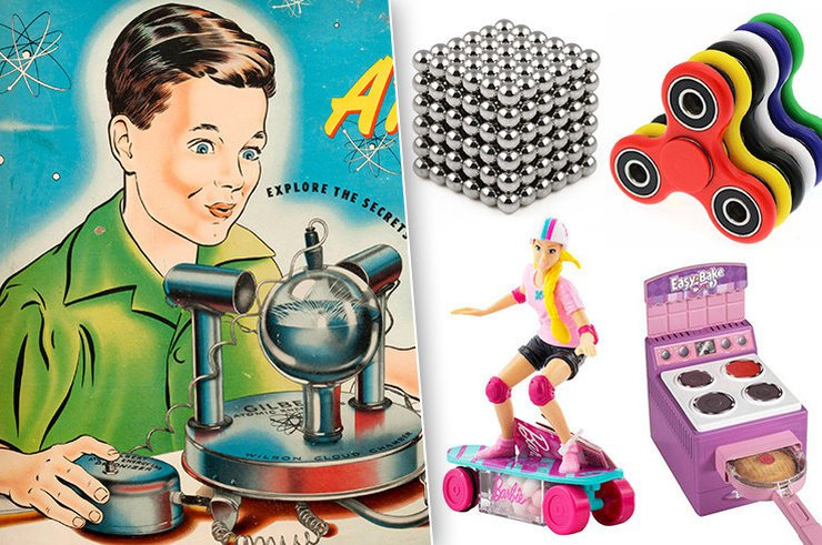 Самые опасные детские игрушки в истории