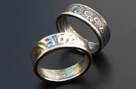 Двухстороннее кольцо из моне…