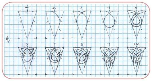 Кельтские узоры рисовать пошагово