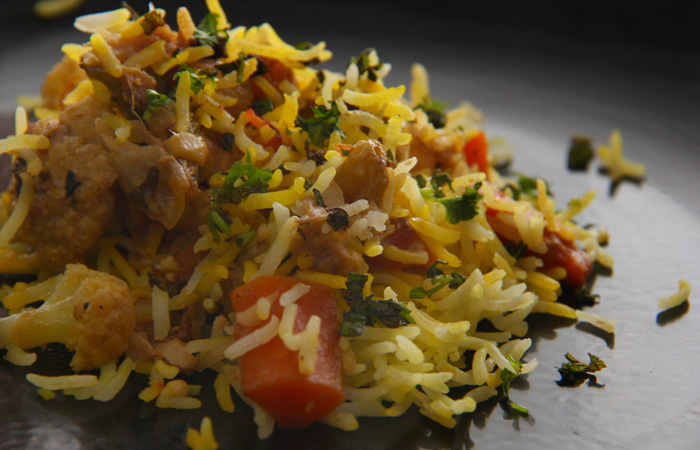 Бириани (Biryani). Индийская кухня. Сделала, очень вкусно получилось!!!! Рекомендую