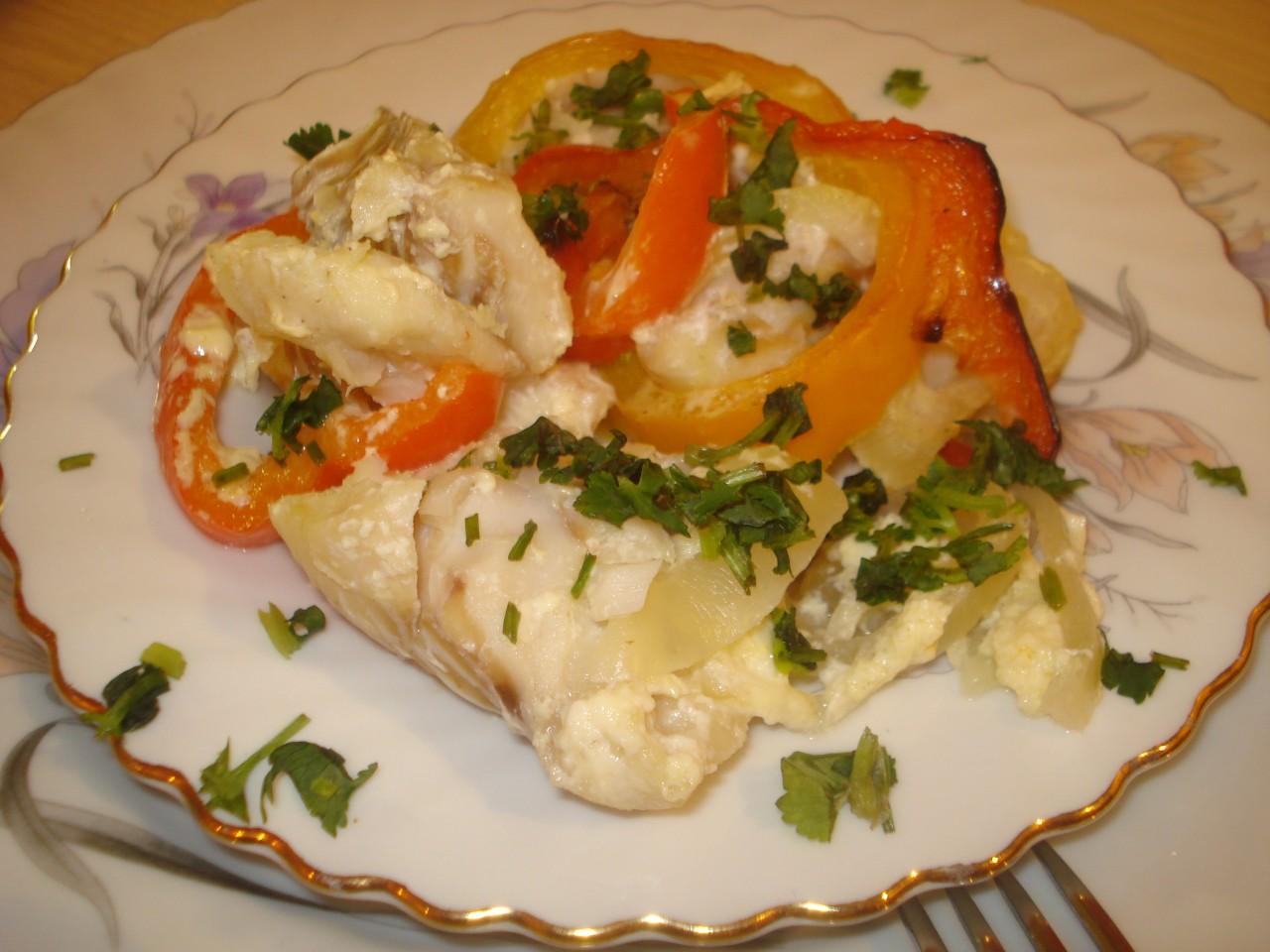 Морской язык с овощами рецепт пошагово